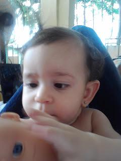 Mi nieta Dominique Tejeda, la más joven de la familia