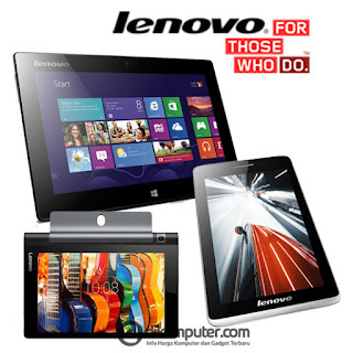 Daftar Harga Tablet Lenovo Terbaru 2016
