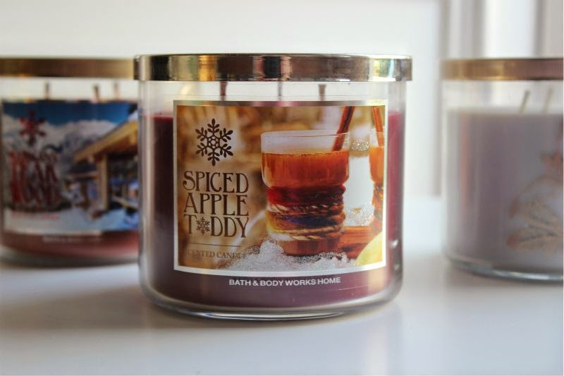 Bath and Body Works Winter Candle Haul