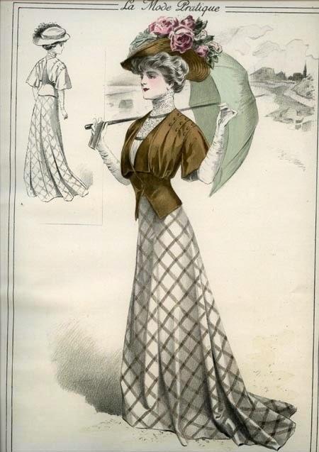 Russian Women Festive Dress Skip 101