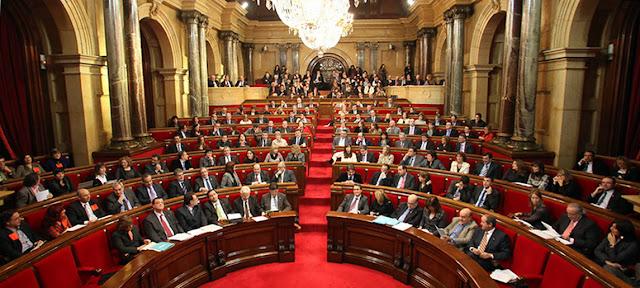 Il Parlamento catalano