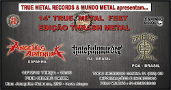 14º TRUE METAL FEST (THRASH METAL)