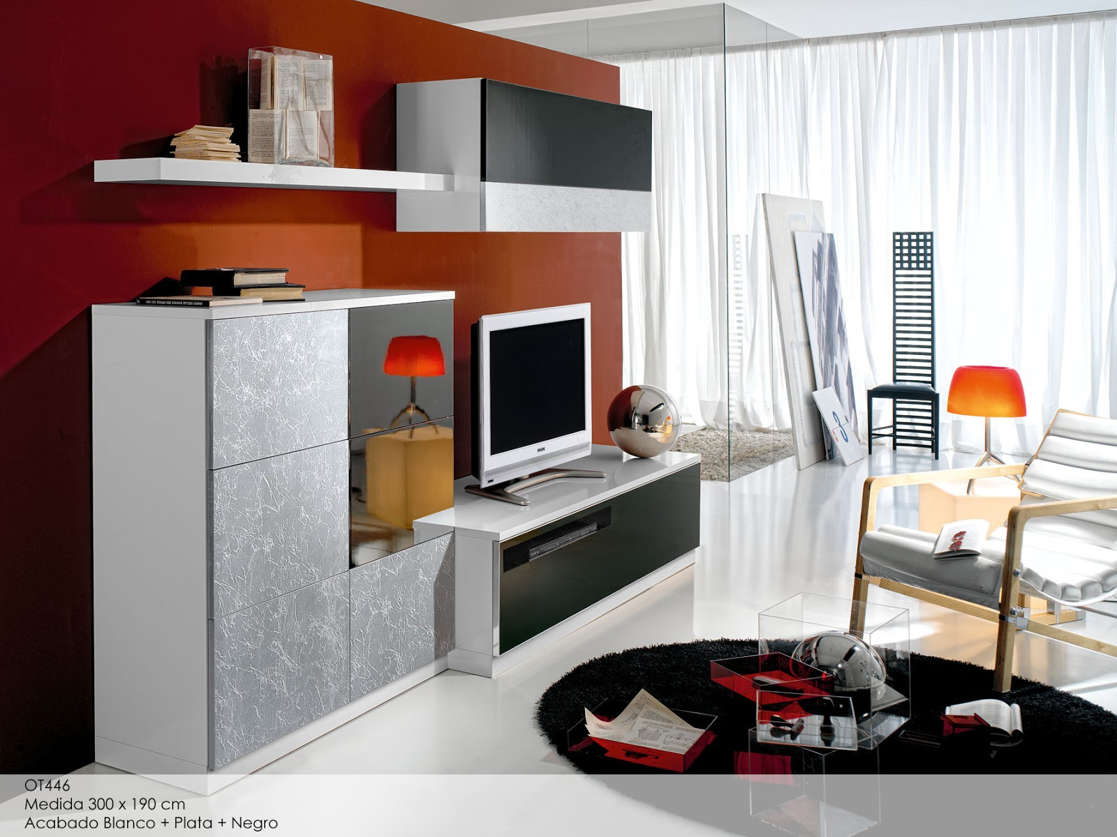 Muebles y carpinteria capita salones modernos - Muebles salones modernos ...