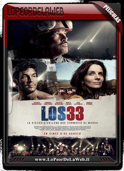 Los 33 720p Latino 2015 [Mega]