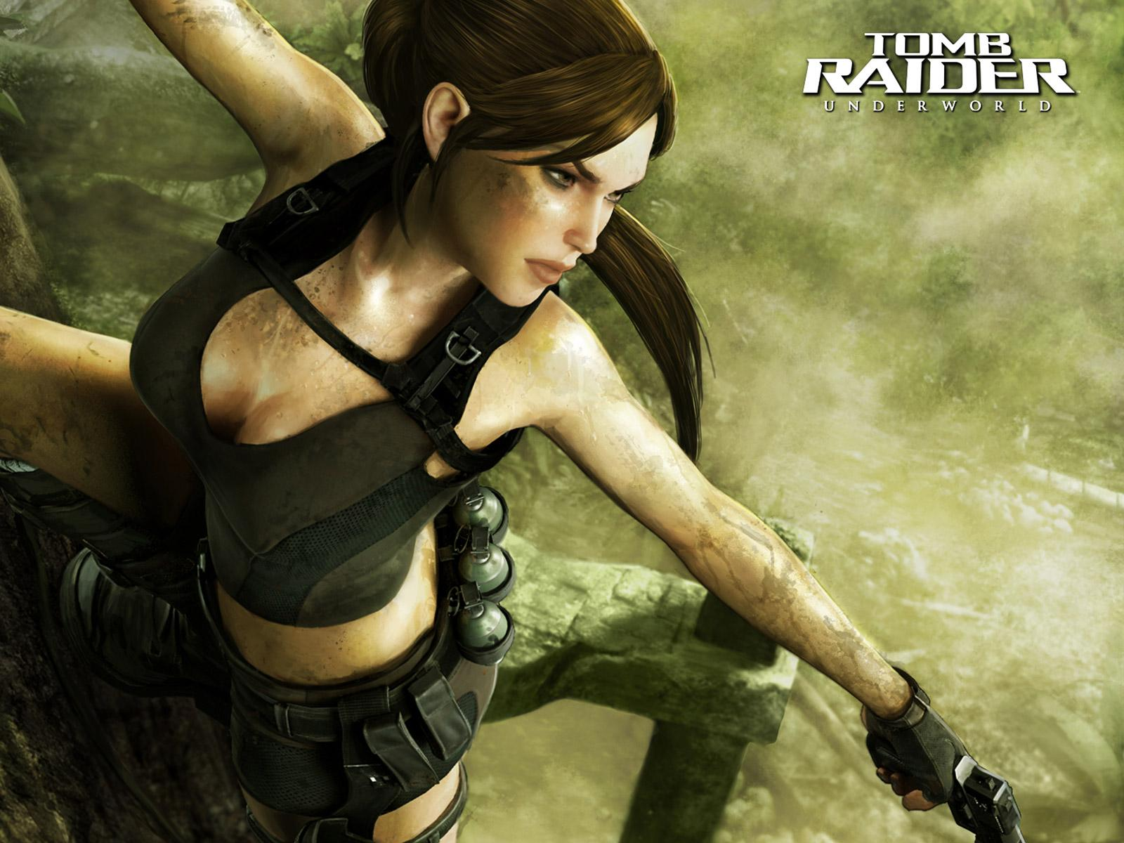 Lara Croft Tomb Raider Artwork Hd Wallpapers