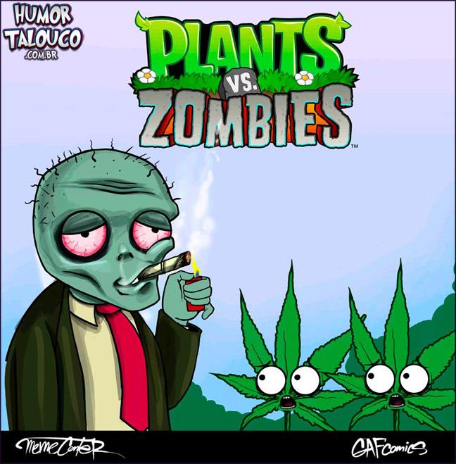 Plants vs. Zombies ?!? Não pera...