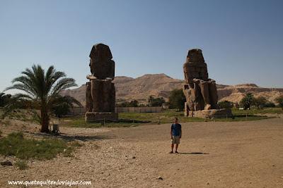 Colosos de Memmos,  Luxor - Viaje a Egipto