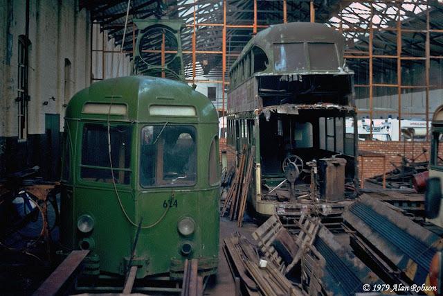 Blackpool Tram Blog Blundell Street Depot