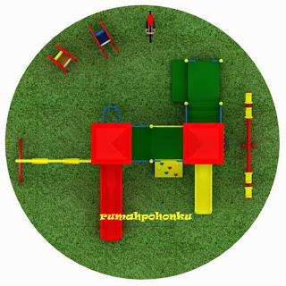 desain outdoor playground indonesia Hotel Raffles