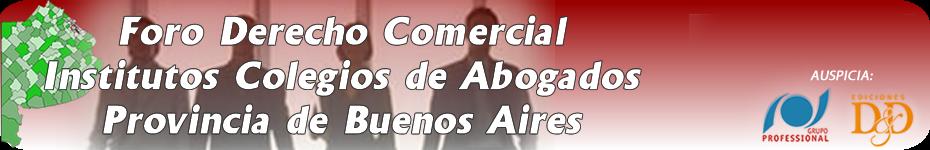 FORO DERECHO COMERCIAL PROVINCIA BA