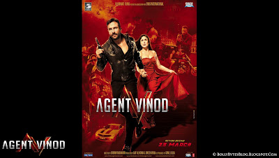 Agent Vinod: Fresh Hot HQ Wallpaper - featuring Saif Ali Khan and Kareena Kapoor