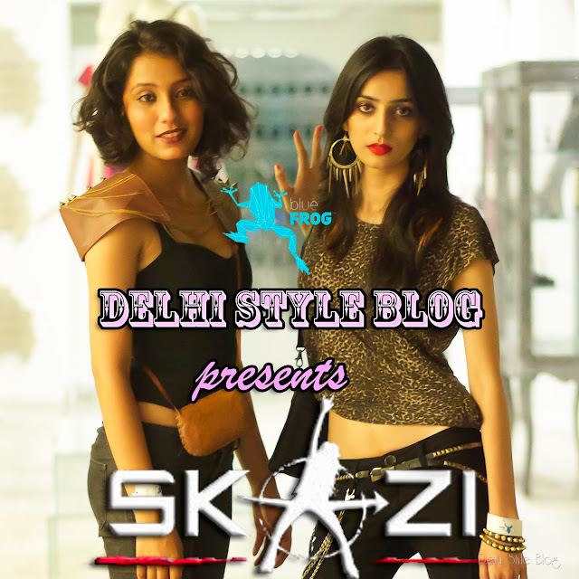 Aanchal Sukhija Akanksha Chauhan Delhi Style Blog Skazi Bluefrog