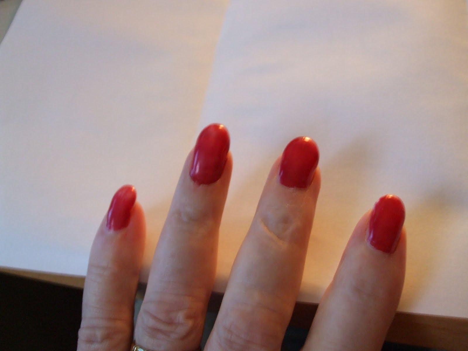 Der Candiden behandelt die Nägel