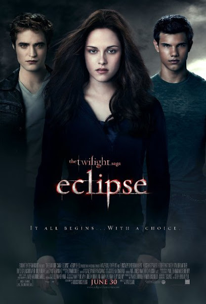Poster of The Twilight Saga Eclipse 2010 720p BRRip Dual Audio