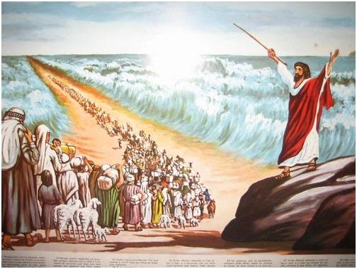 vivendo jesus dia à dia o mar vermelho se abre e israel recebe a