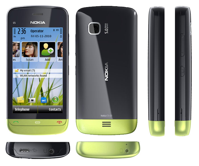 Nokia C5-03 Mobile Price in India, Features and Specifications