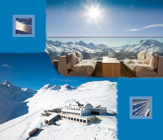 Ремонт горнолыжного курорта в Альпах