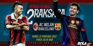 inovLy media : Milan Tundukkan Barca Dua Gol Tanpa Balas