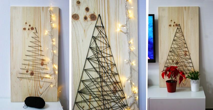El árbol de navidad handmade de Decorar en familia - DIY3