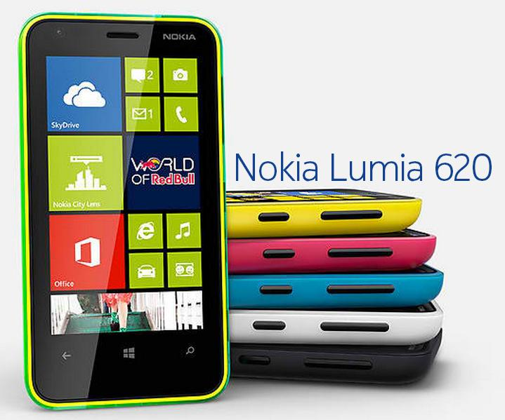 Get Stunned With Nokia LUMIA 620 Unique Design And Double Shot Colour Shells At Affordable Price It Is Also The Second Highest Pixel Per Inch Of All