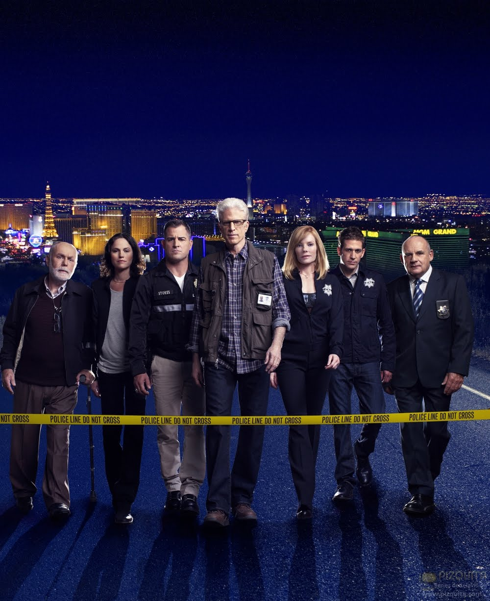 CSI: Las Vegas - Season 12 - Cast Promotional Photo