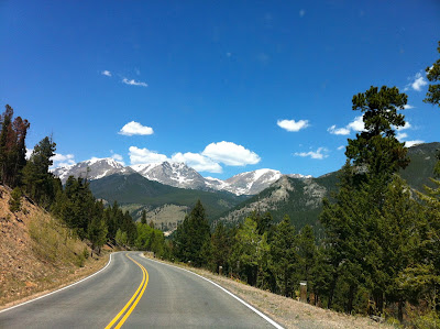 Highway 34 to Estes Park, CO #ColorfulColorado #Colorado www.thebrighterwriter.blogspot.com