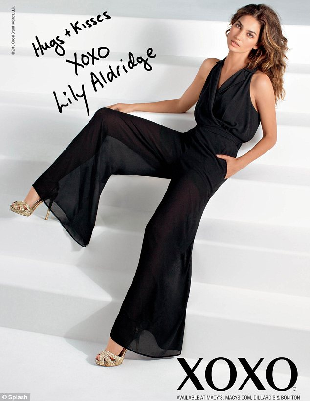 MAD'CHIC: Lily Aldridge is the New Face of XOXO