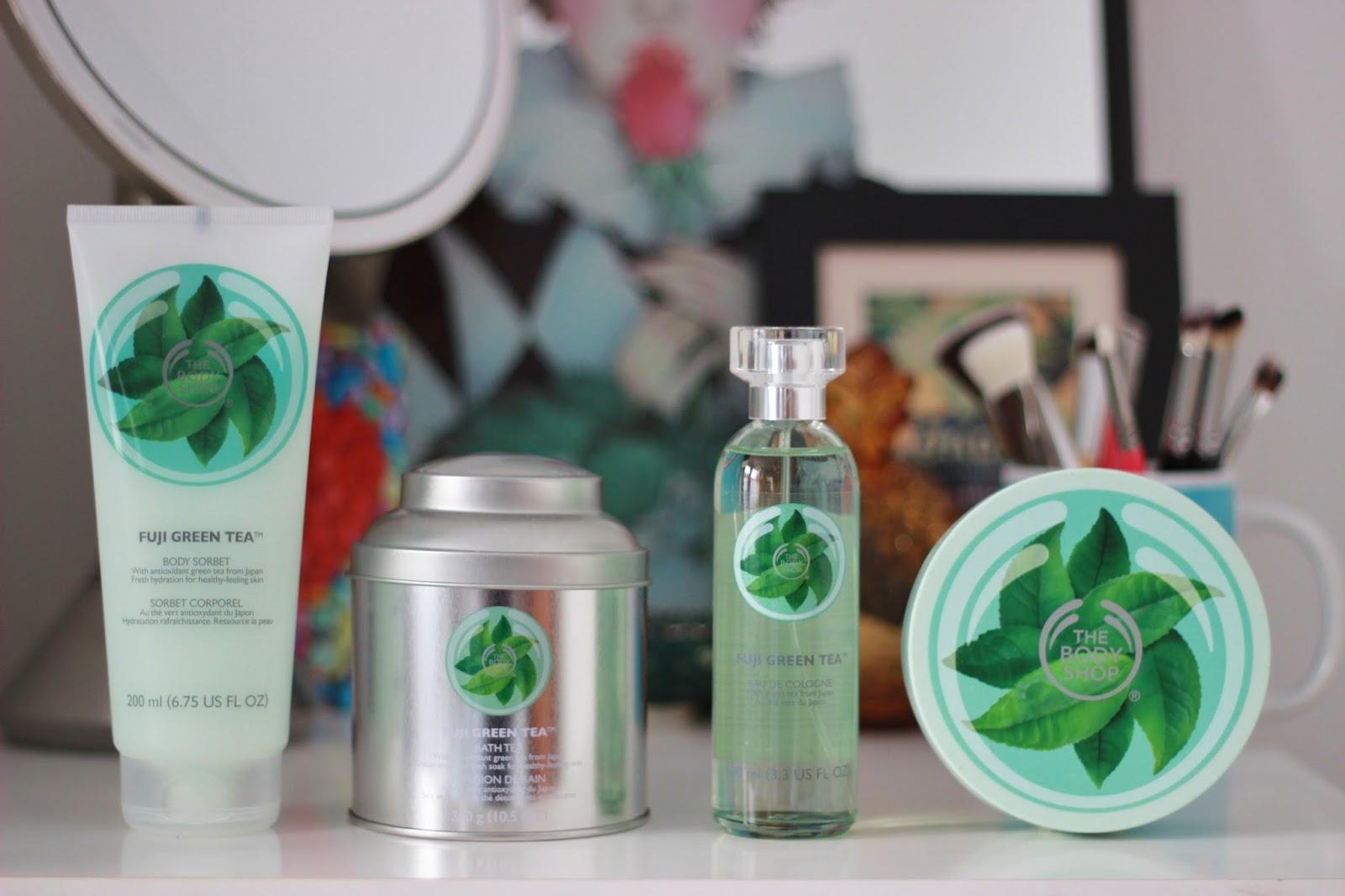 The Body Shop Fuji Green Tea bath and body range | Tales of a Pale ...