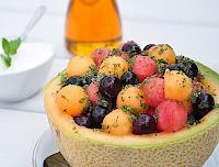 Salada de Frutas Bolinha (vegana)