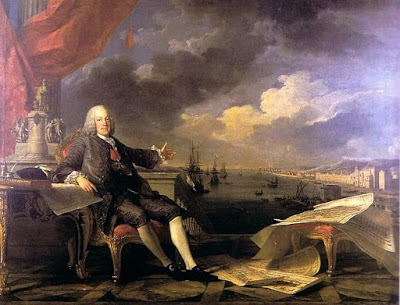 """Louis-Michel van Loo 003"" por Louis-Michel van Loo - This image was moved from Image:Marques Pombal.JPG. Licenciado sob Domínio público, via Wikimedia Commons - https://commons.wikimedia.org/wiki/File:Louis-Michel_van_Loo_003.jpg#/media/File:Louis-Michel_van_Loo_003.jpg"