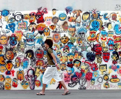Graffiti Wall, Graffiti Characters