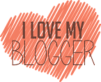 6º selinho - I love my blogger