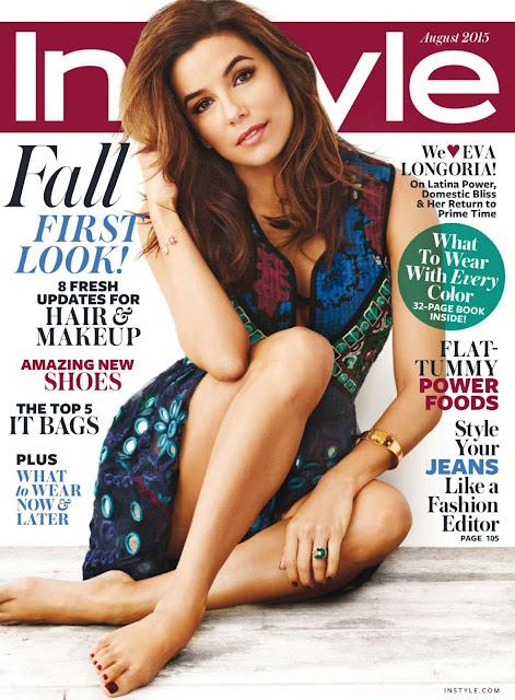 Actress @ Eva Longoria - InStyle USA, August 2015