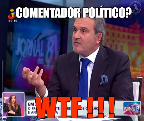 Foto de Miguel Relvas na TVI – Comentador Político? WTF!!!