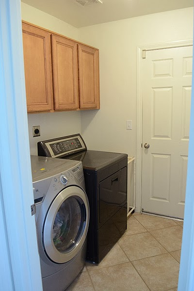 Laundry Room from Medley of Golden Days Blog