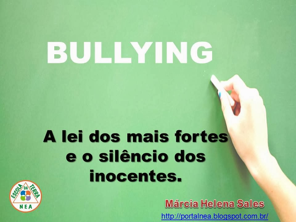 PALESTRA: BULLYING