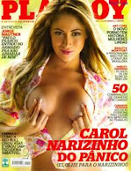 Fotos Carol Narizinho na Playboy Maro Brasil 2013 - A MELHOR PLAYBOY de sempre