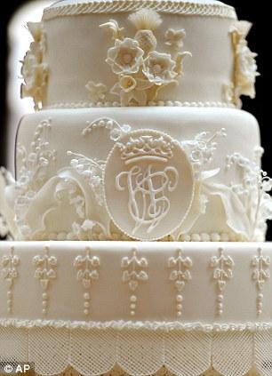 The General Hospital Wub Tub Royal Cake - Selfridges Wedding Cakes