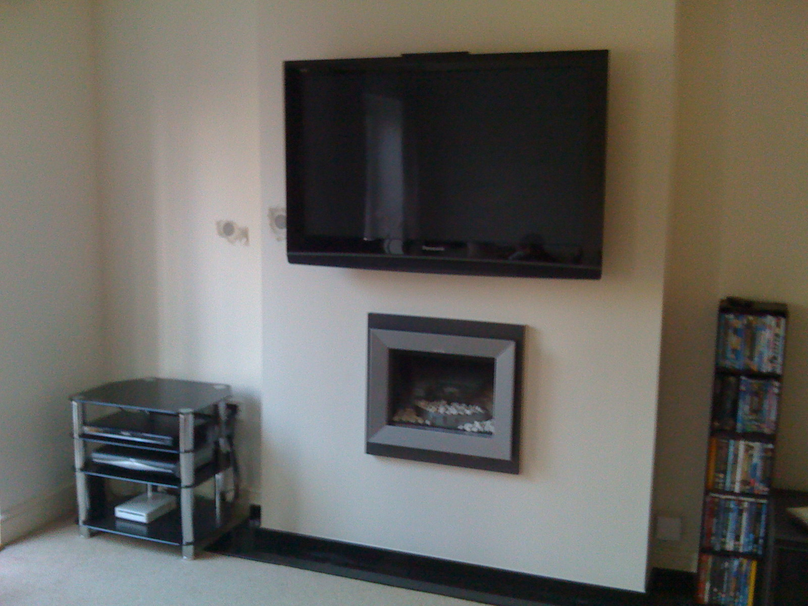 Brick Fireplace Tv Mount Latest Mount Lcd Tv On Grey Brick Fireplace And White Frame Also Black