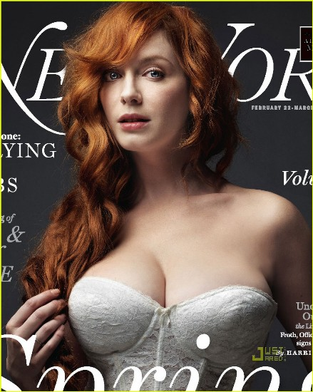 Hollywood celebrity with Sexiest Breast Christina Hendricks
