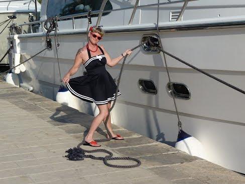 sailor rockabilly swingdress