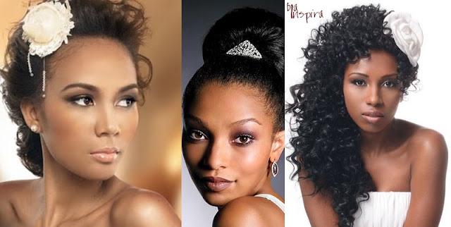 Maquiagem para pele de Noivas Negras