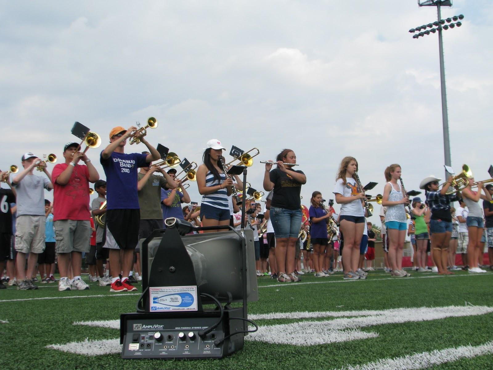 Marching Band Pa System The Half Mile Hailer Loudspeaker