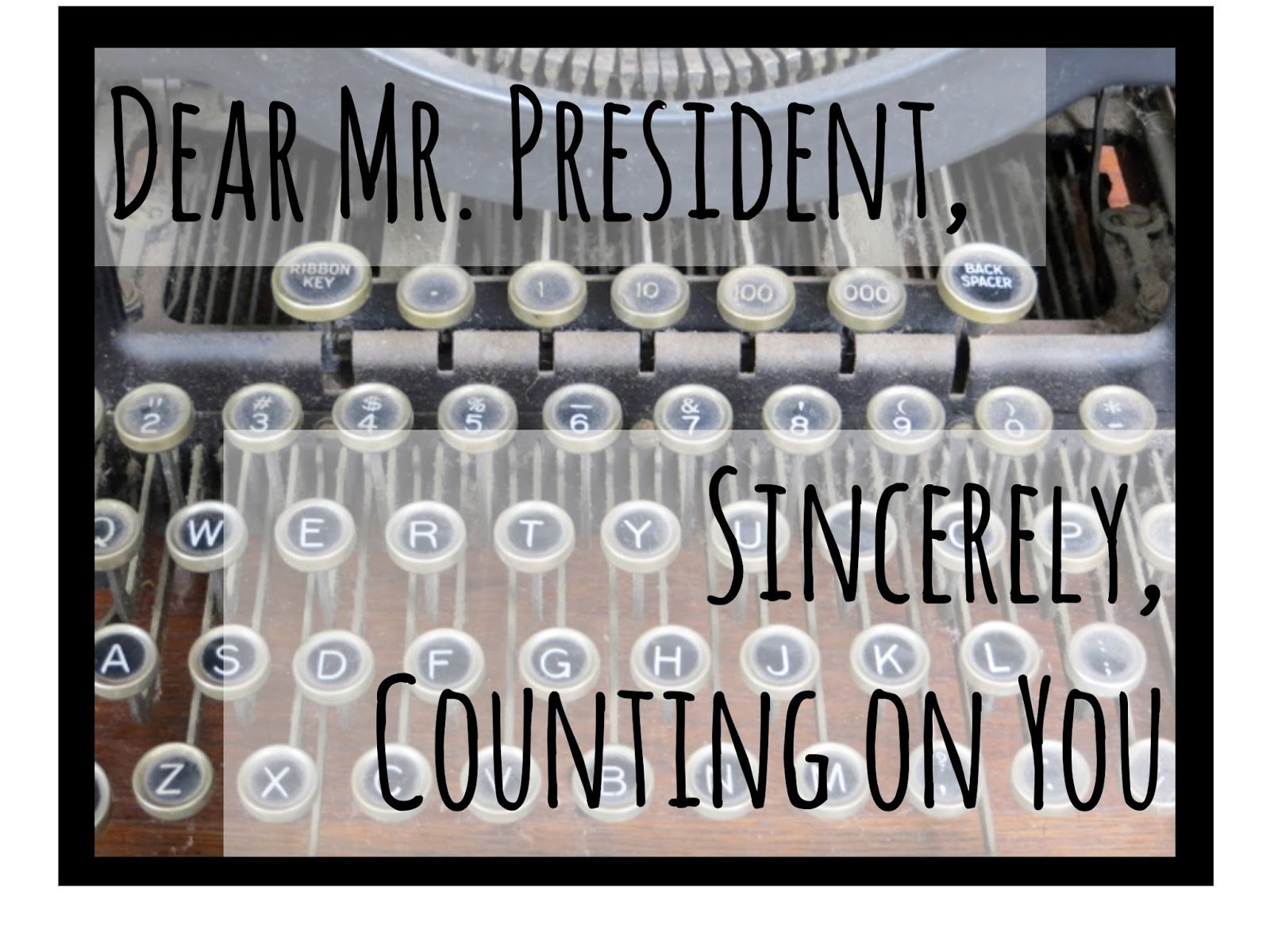 dear mr president Produced, directed, & shot by jade strickland, & ollie wilkinson edited by oliver wilkinson final cut 7 apple certified level 1 editor.