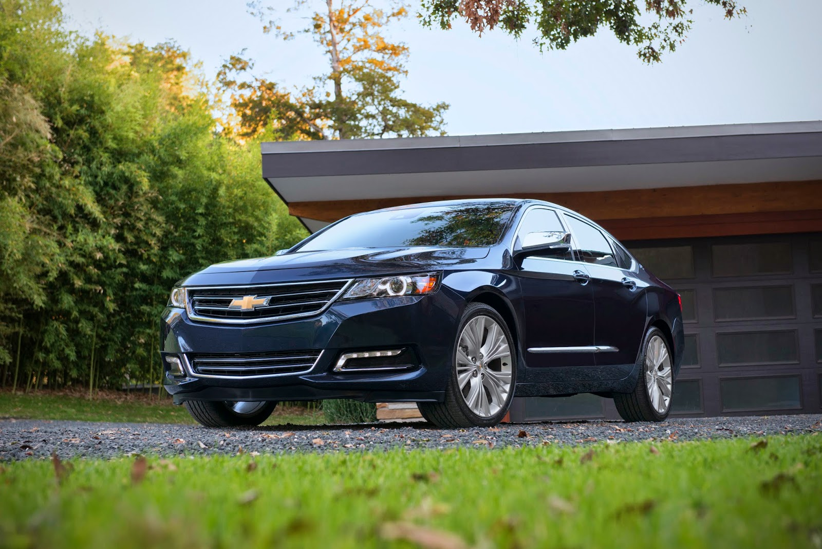Stop/Start Technology Standard on 2015 Chevy Impala