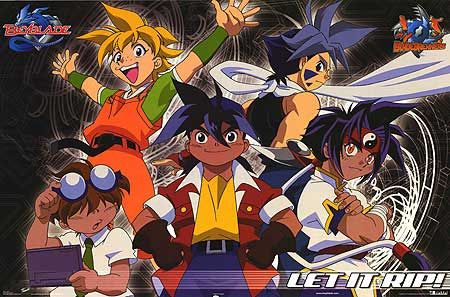 Beyblade 1ª Temporada Torrent - DVDRip