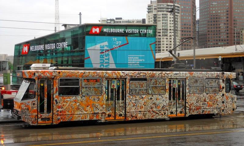 Melbourne Art tram, Melbourne Festival