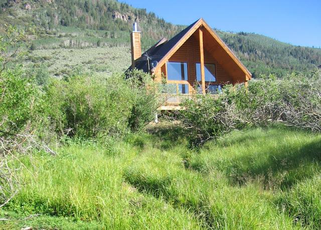 Rental cabins at fish lake utah elderberry 10 person for Fish lake cabin