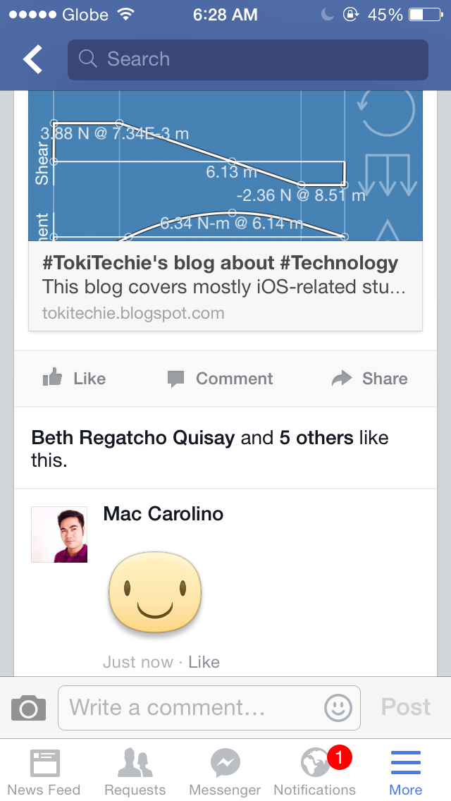 Facebook now lets you comment with Stickers! | #TokiTechie ...