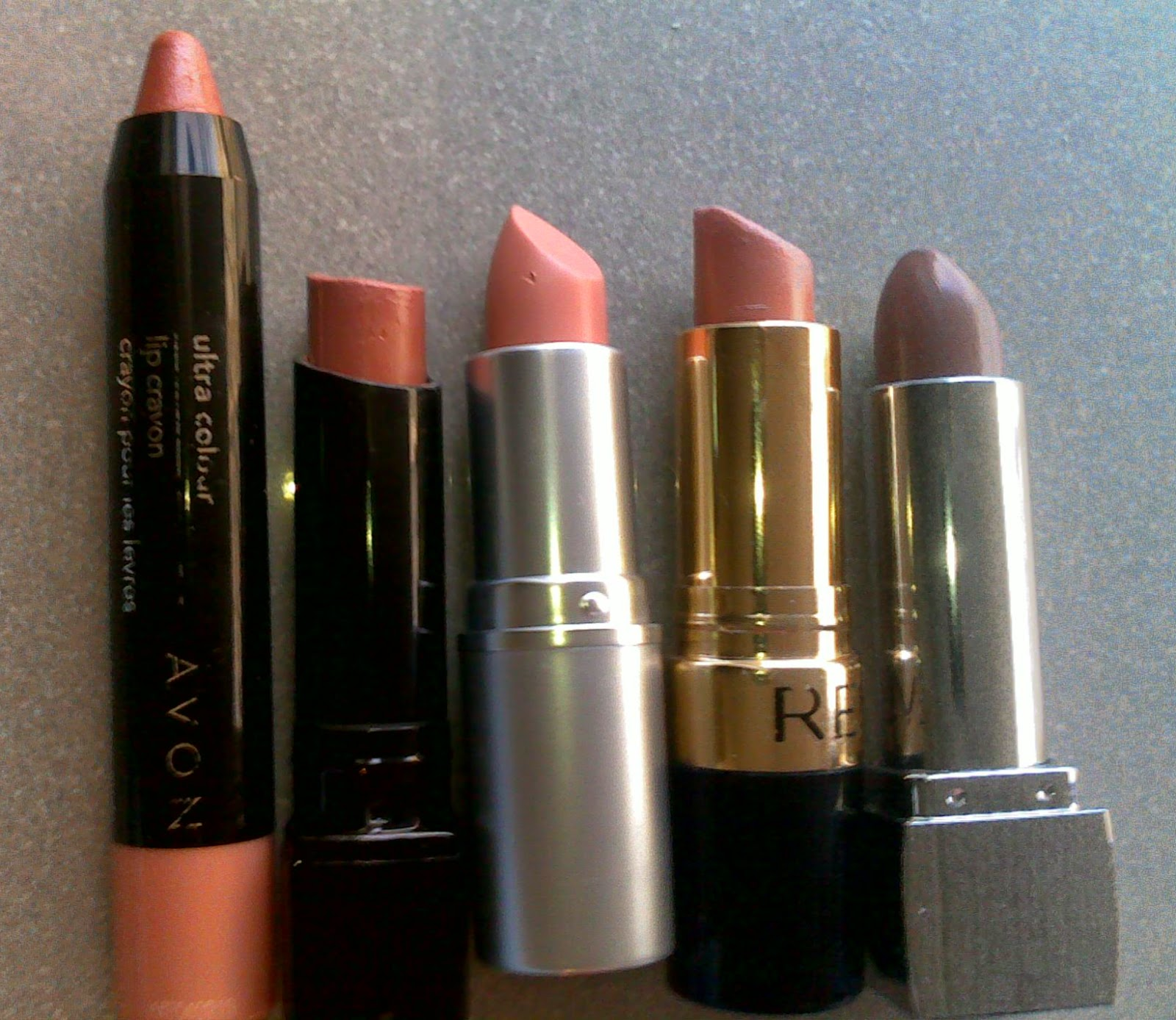 Nude lipsticks in nude beige